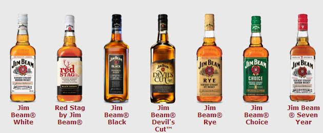 Виски Джим Бим Виды