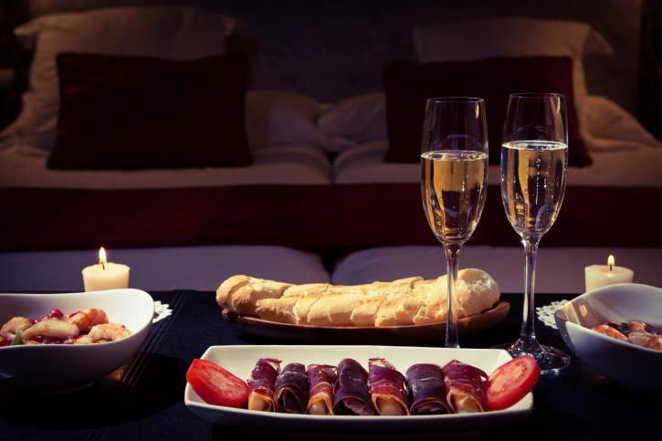 Романтический ужин для нее в домашних условиях
