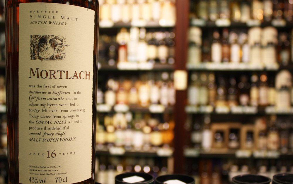 mortlach виски