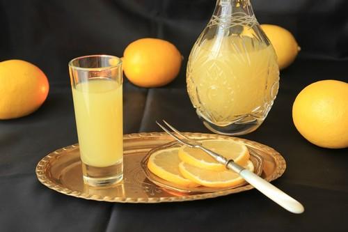 Настойка из апельсин
