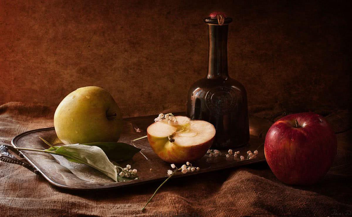 Яблочная водка в домашних условиях