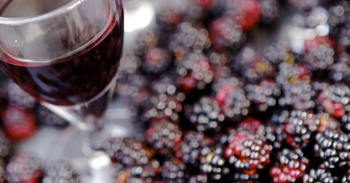 Вино из ежевики в домашних условиях