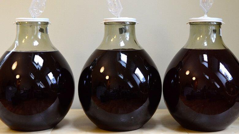Домашнее вино из бузины