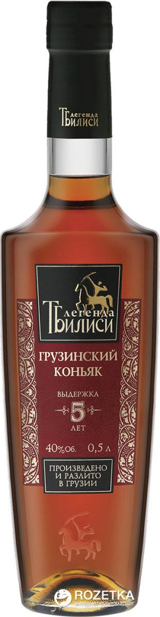 Коньяк «Легенда Тбилиси»