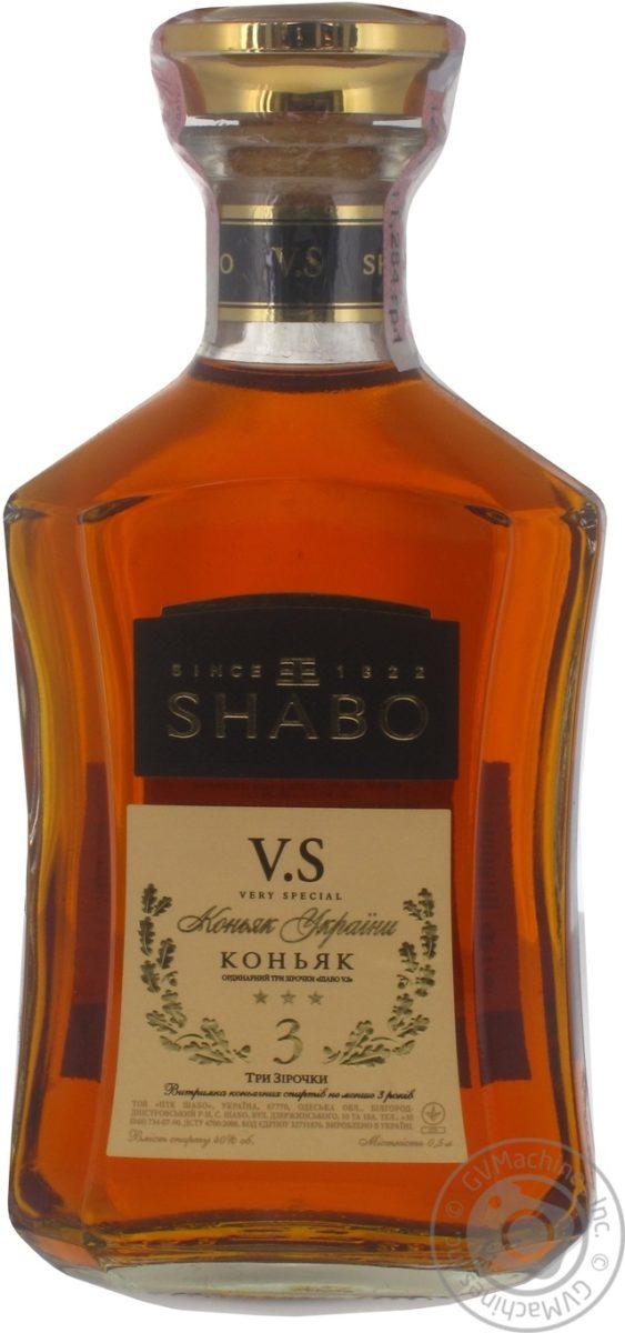 Коньяк «Шабо» (Shabo)