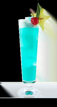 """Коктейль """"Голубая луна"""""""
