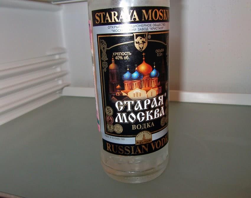 Водка «Старая Москва»