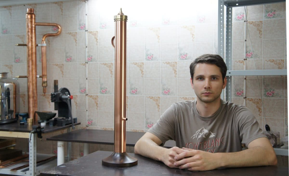 Как сделать угольную колонну для очистки самогона?