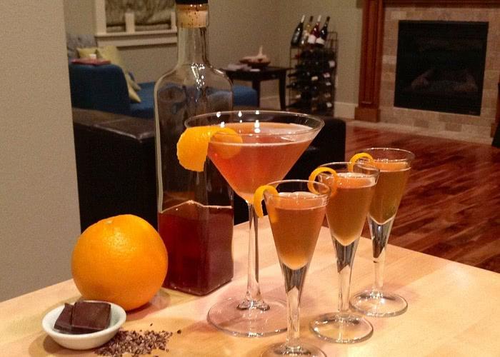 Рецепт апельсиновой водки, самогона или настойки