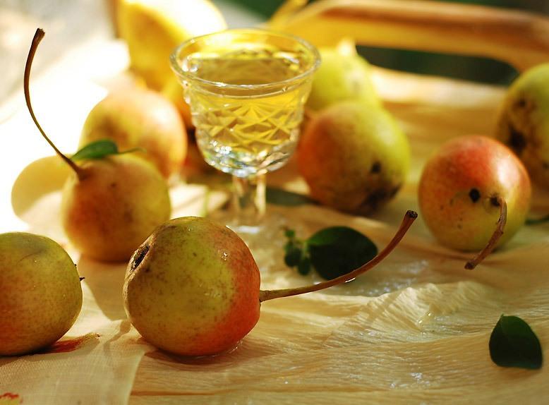Домашний рецепт приготовления наливки из груши
