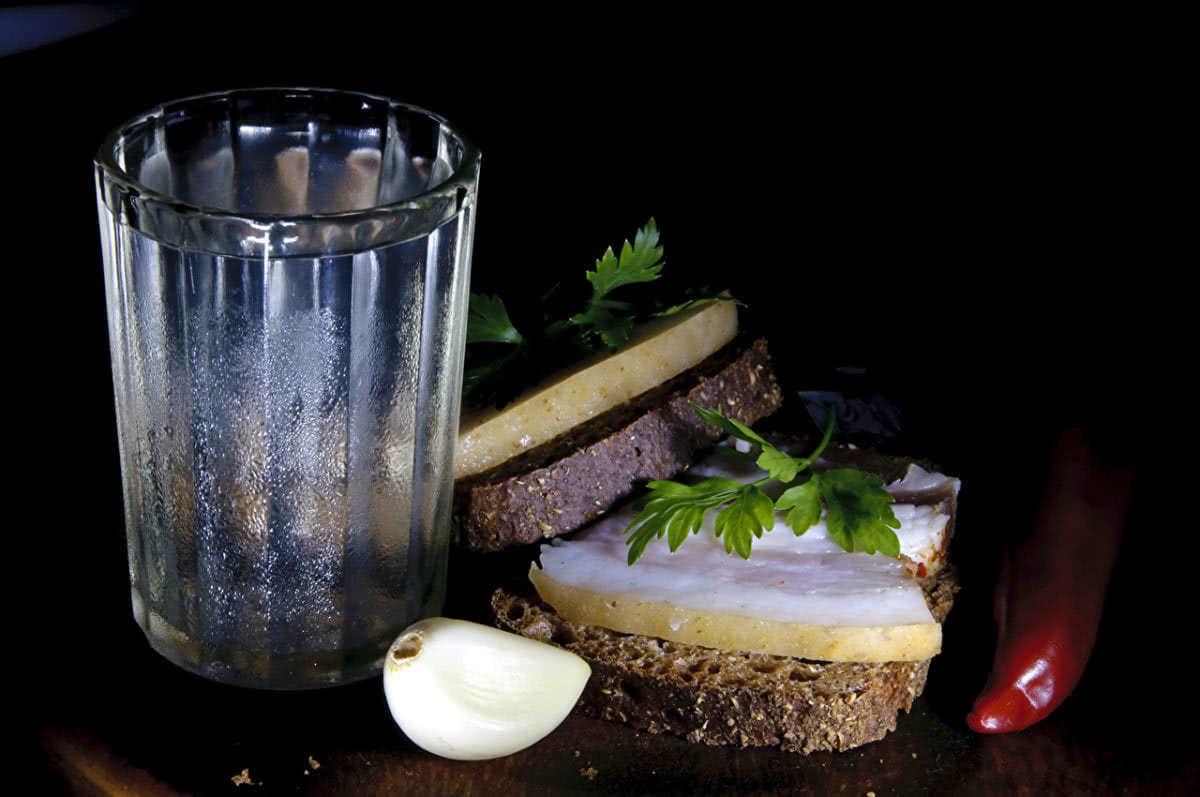 Какая калорийность у водки