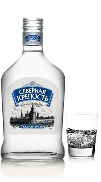 Водка «Крепость»
