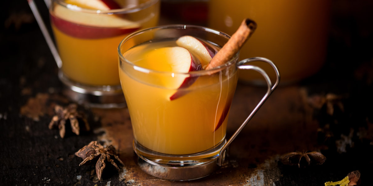 Рецепт горячего тодди с бурбоном и джином