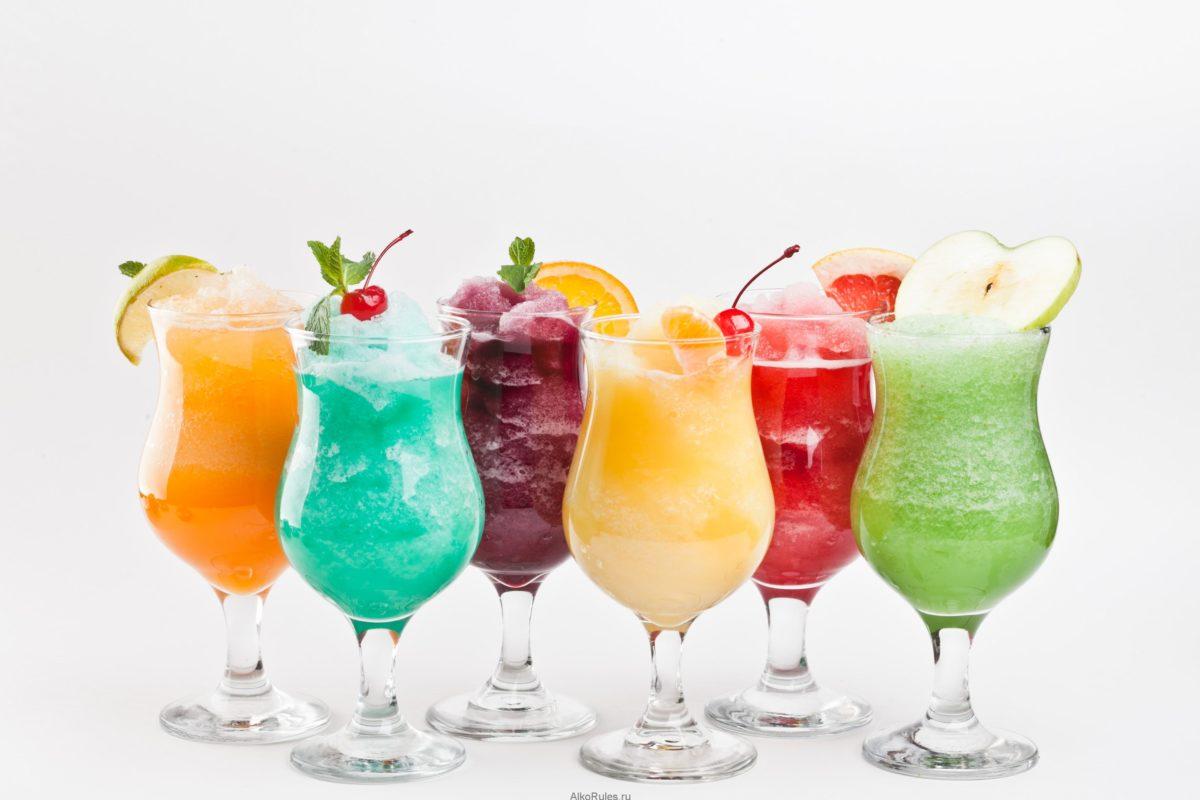 Виды алкогольных коктейлей: классификация