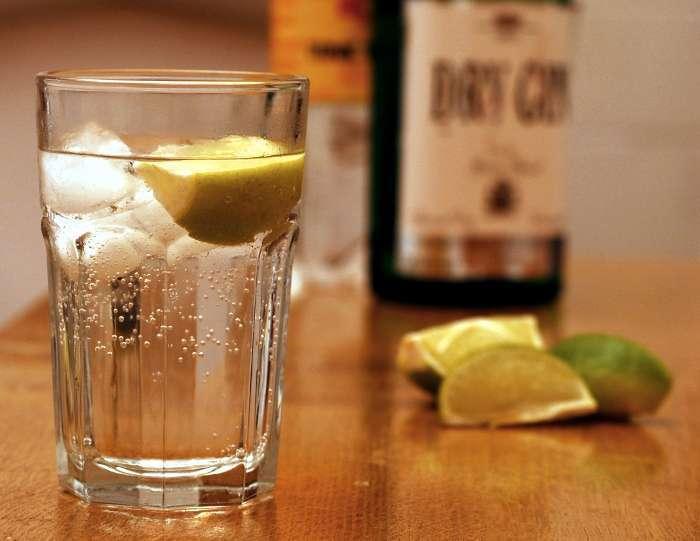 Рецепт приготовлегния идеального джин тоника
