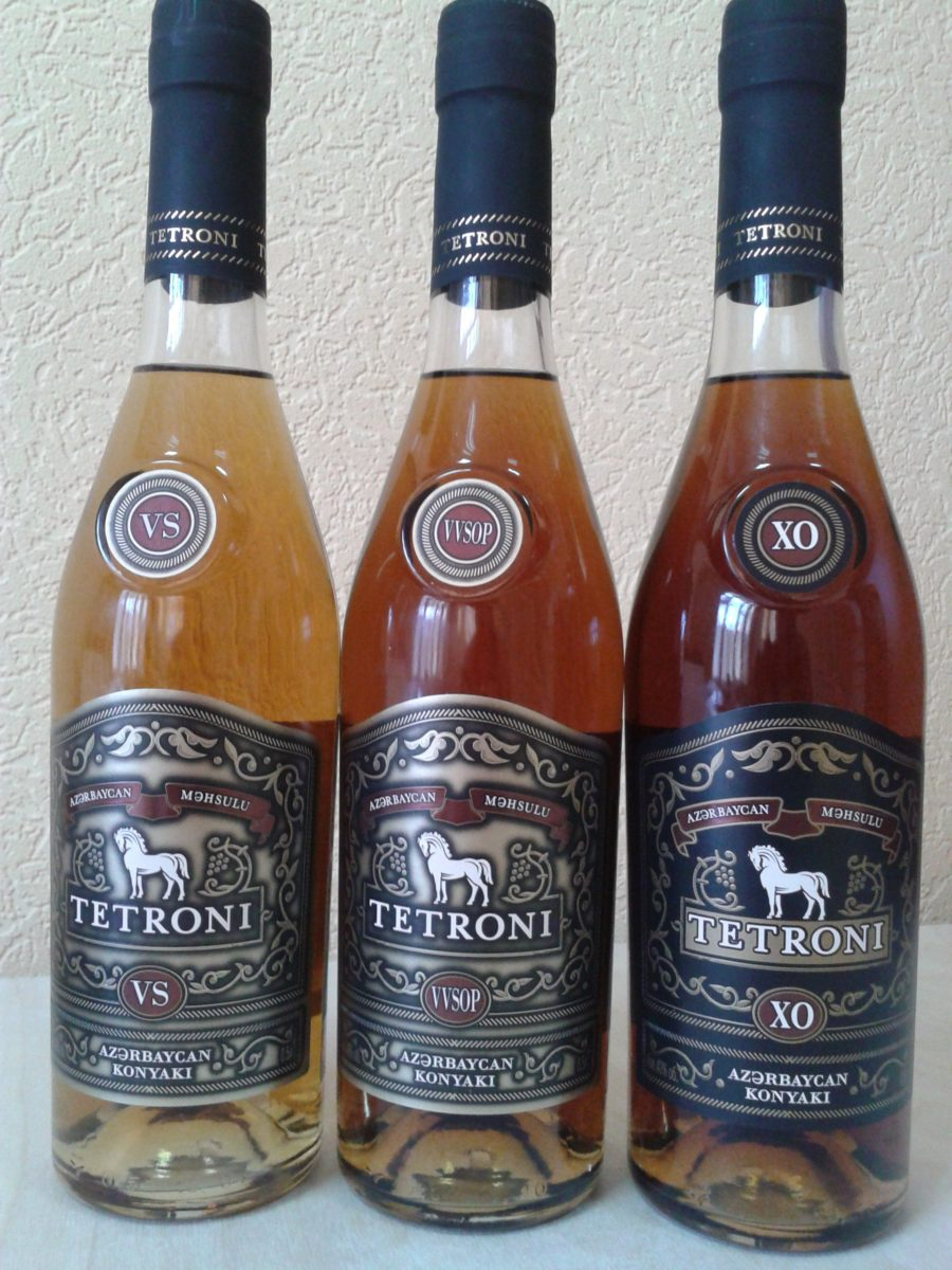 Коньяк «Тетрони»