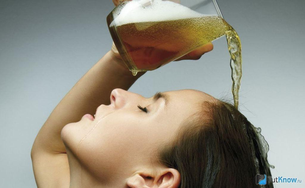 Польза применения пива в уходе за волосами