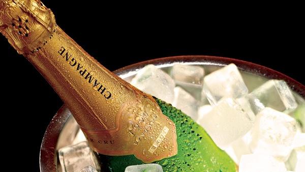 шампанское замерзло