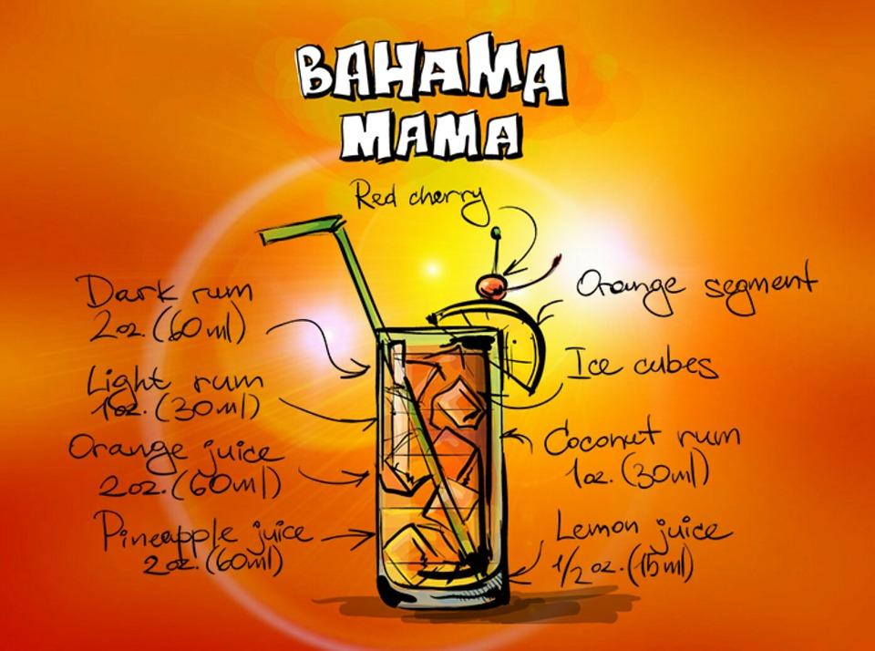 Коктейль «Багама Мама»
