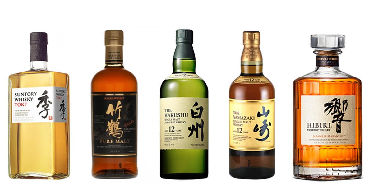 японские марки виски