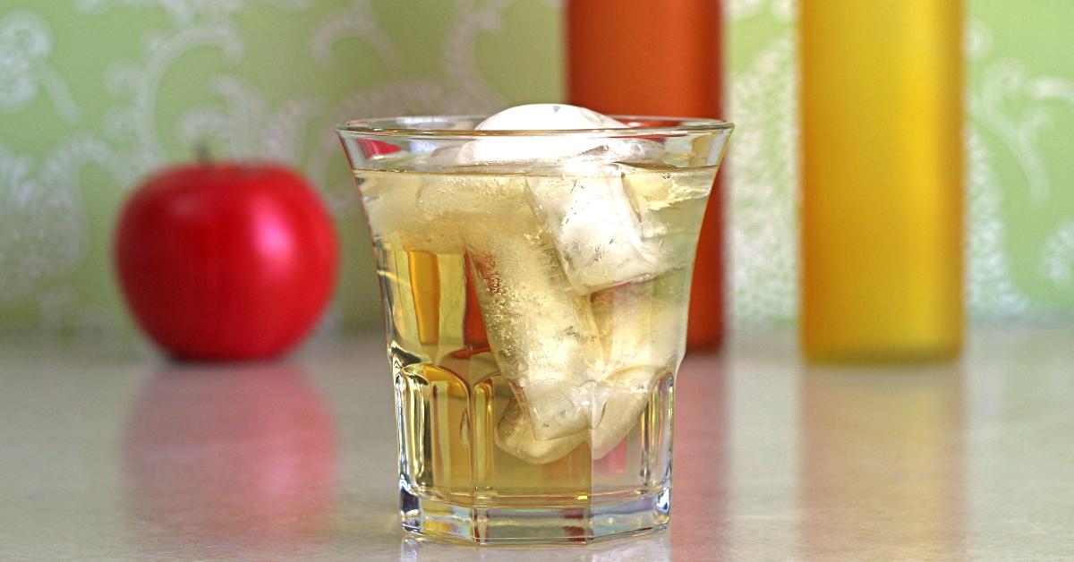 водка с яблочным соком