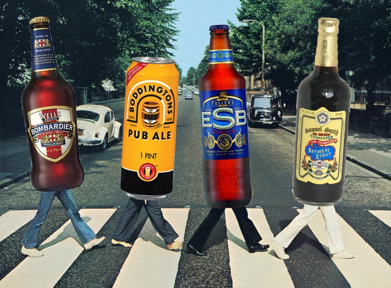 Английское пиво – история производства