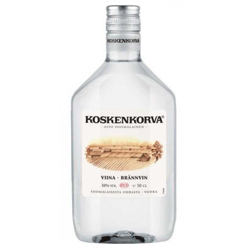 «Коскенкорва» - финская водка премиум-класса, выпускаемая компанией «Altia Group» с 1953 года. Полное название бренда - «Koskenkorva Vodka Original». Марка славится тем, что среди европейских потребителей прочно удерживает вторую позицию.