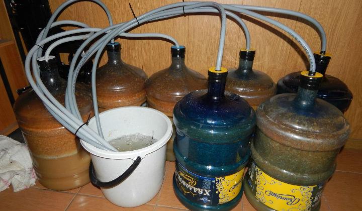 Как сделать брагу из сока и концентрата сока