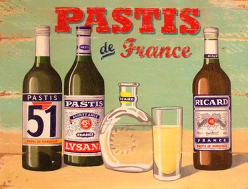 Пастис – французская анисовая настойка