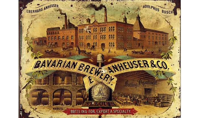 Anheuser-Busch история пива в США