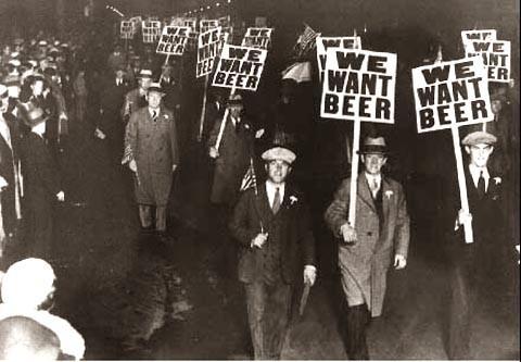 Сухой закон в США история пива