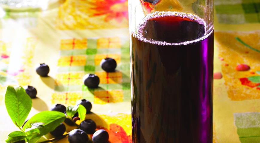 Рецепт приготовления домашнего вина из черники