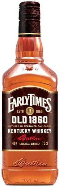 Виски Early Times (Эрли Таймс)
