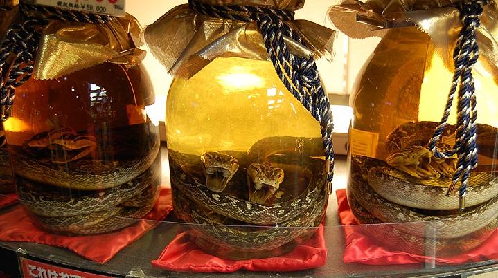Японский алкогольный напиток Авамори